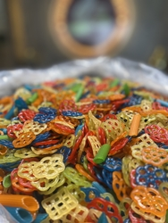 - Renkli sihirli cips
